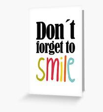 Sprüche, Lachen, Positiv denken, Motivation, Greeting Card