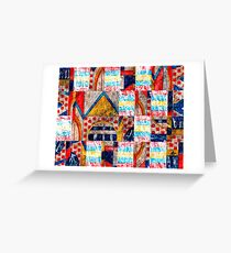 Persian Puzzle Greeting Card