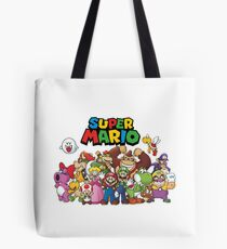 super mario all characters Tote Bag