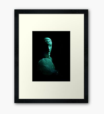 Entre Ombres Et Lumiere ~ Part Three Framed Print