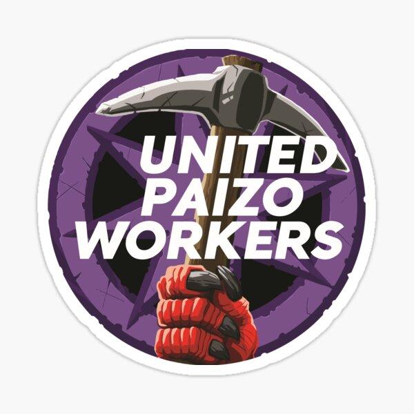 United Paizo Workers Logo Sticker