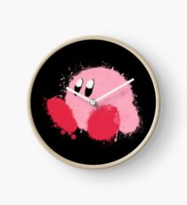 Kirby Splatter ~ ☆ Clock