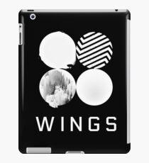 BTS Wings Logo (Black) iPad Case/Skin