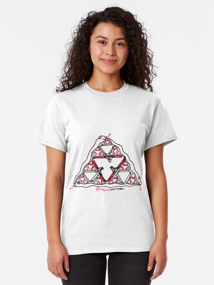 Alternate view of Do Serpents Ski? Classic T-Shirt