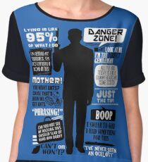 Archer - Sterling Archer Quotes Women's Chiffon Top