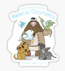 Hagrid's Home for Magical Creatures Sticker