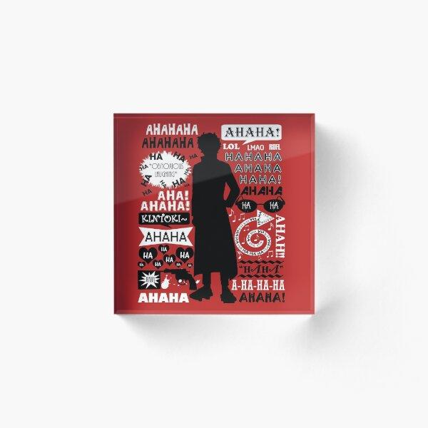 "Gintama - Sakamoto Tatsuma ""Quotes"" Acrylic Block"