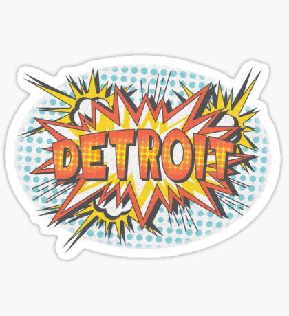 Pop Comic Series: Detroit! Sticker