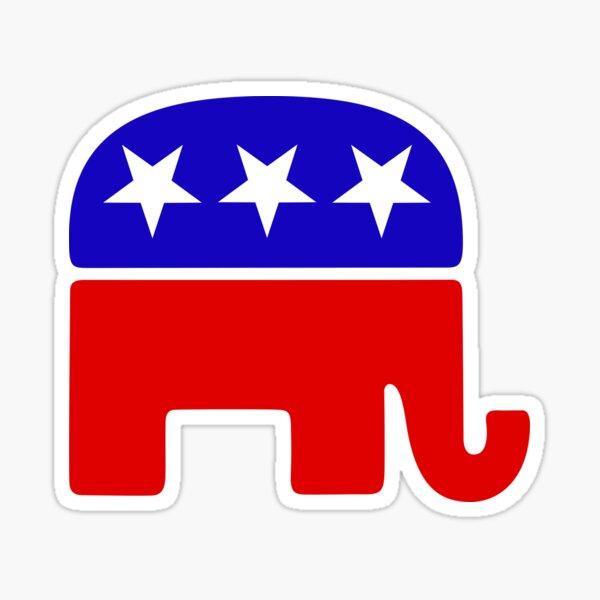 GOP Elephant Sticker