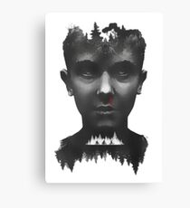 stranger things - tv series Canvas Print