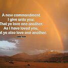 Love One Another--John 13:34 by Corri Gryting Gutzman