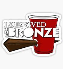 I Survived the Bronze Sticker