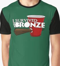 I Survived the Bronze Graphic T-Shirt