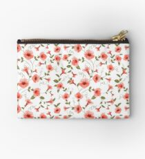 Bindweed , floral background, seamless pattern Studio Pouch