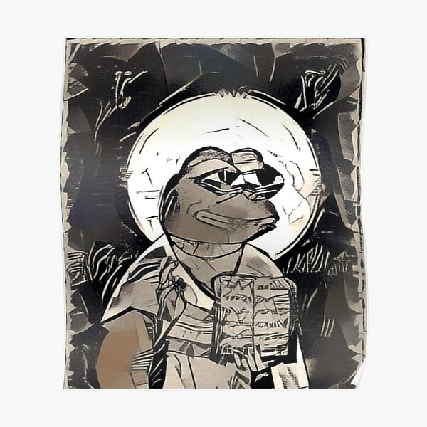 Holy Pepe Poster