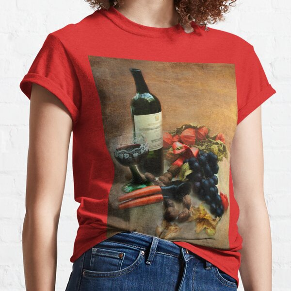 Wine and grapes Classic T-Shirt