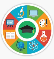 Education Infographic Sticker