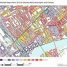 Multiple Deprivation Stanley ward, Kensington & Chelsea by ianturton
