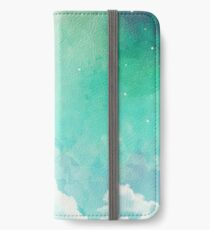 Above the sky iPhone Wallet
