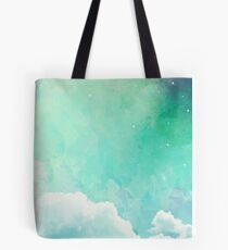 Above the sky Tote Bag