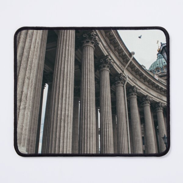 Roman Ionic Columns   Italy Architecture Photography Mouse Pad
