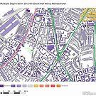 Multiple Deprivation Stockwell ward, Wandsworth by ianturton