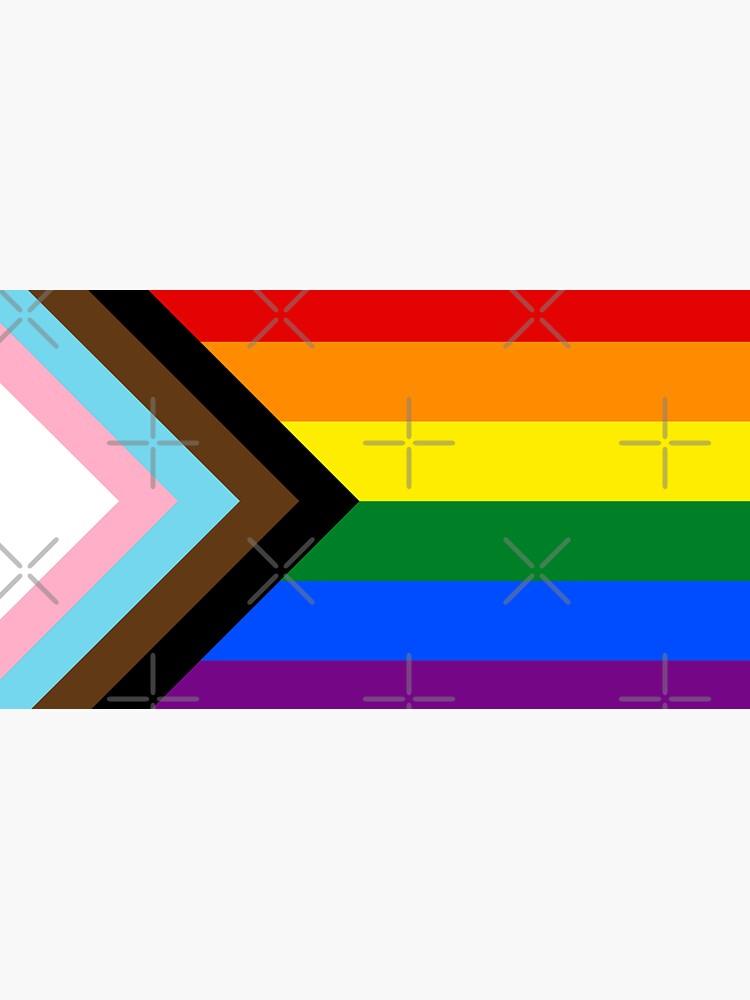 Progress Pride flag design by Bluey-Boronia
