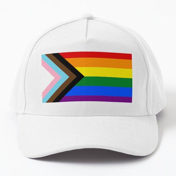 Progress Pride flag design Baseball Cap