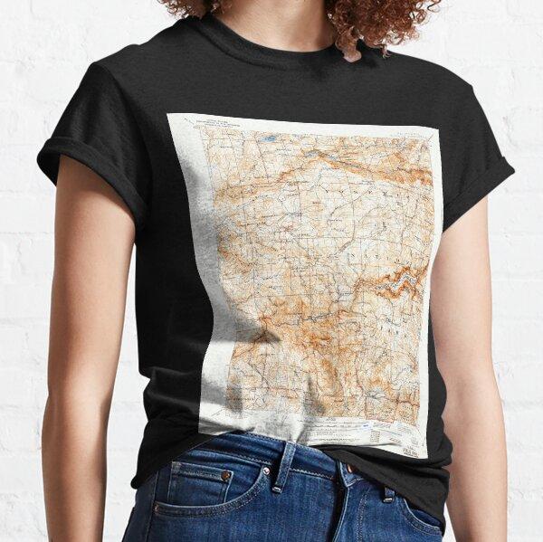 USGS TOPO Map California CA Yosemite 302106 1909 125000 geo Classic T-Shirt