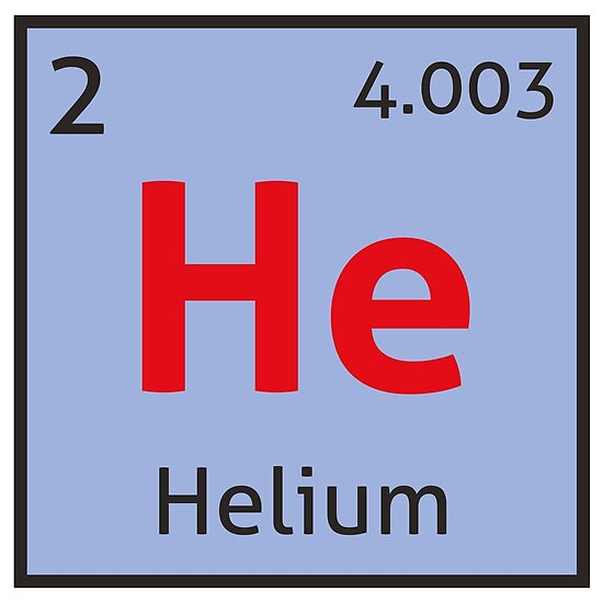 The periodic table helium posters by destinysagent redbubble the periodic table helium urtaz Image collections