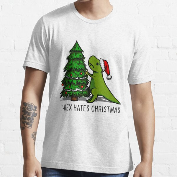 T-Rex Hates Christmas Essential T-Shirt