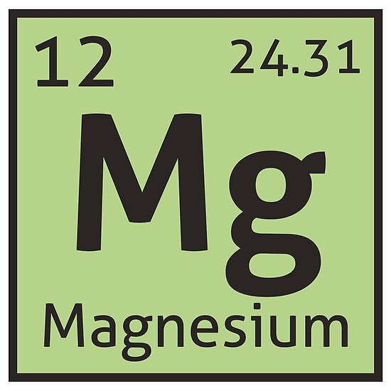 The periodic table magnesium posters by destinysagent redbubble the periodic table magnesium by destinysagent urtaz Images