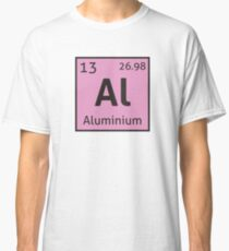 The Periodic Table - Aluminium Classic T-Shirt