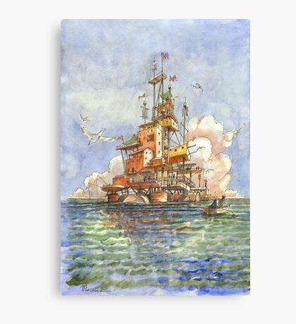 La Citta' Galleggiante Canvas Print