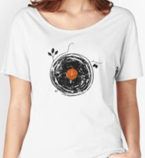 Enchanting Vinyl Records Vintage Women's Relaxed Fit T-Shirt