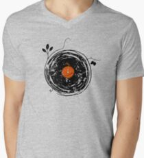 Enchanting Vinyl Records Vintage Men's V-Neck T-Shirt