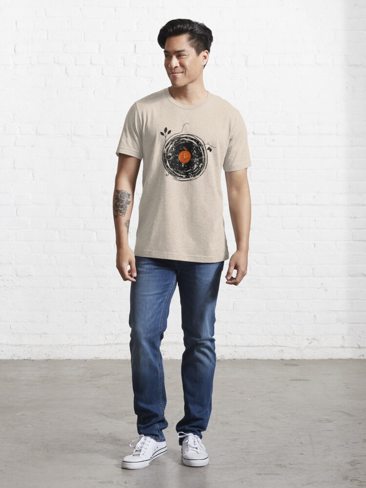 Alternate view of Enchanting Vinyl Records Vintage Essential T-Shirt