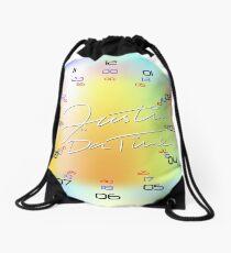 KolorKloc - Time Is Our Relative Drawstring Bag