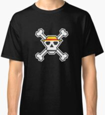 Custom Minimal Pirate Flag (The Straw Hats) Classic T-Shirt