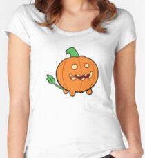 Steven Universe Pumpkin Women's Fitted Scoop T-Shirt