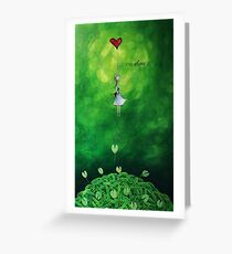 Rise above it Greeting Card