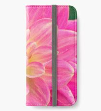 Beautiful Pink Dahlia Flower iPhone Wallet/Case/Skin