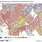 Multiple Deprivation Town ward, Hammersmith & Fulham by ianturton