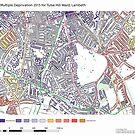 Multiple Deprivation Tulse Hill ward, Lambeth by ianturton