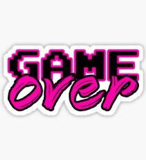 GAME OVER (Sexy) Sticker