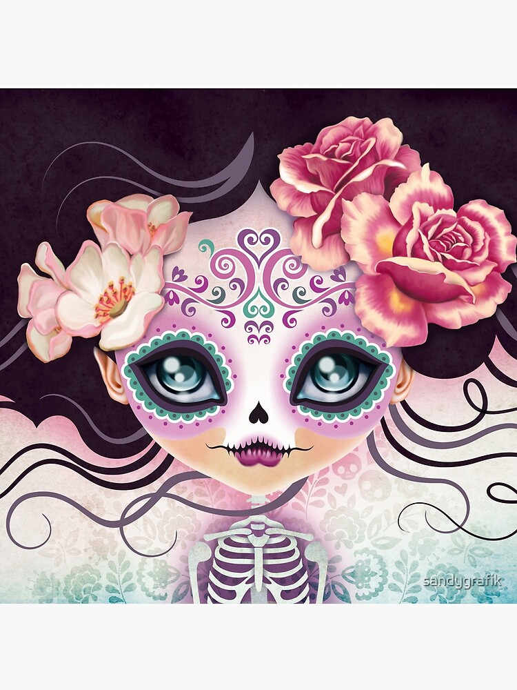 Camila Huesitos - Sugar Skull by sandygrafik