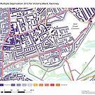 Multiple Deprivation Victoria ward, Hackney by ianturton