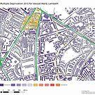 Multiple Deprivation Vassal ward, Lambeth by ianturton