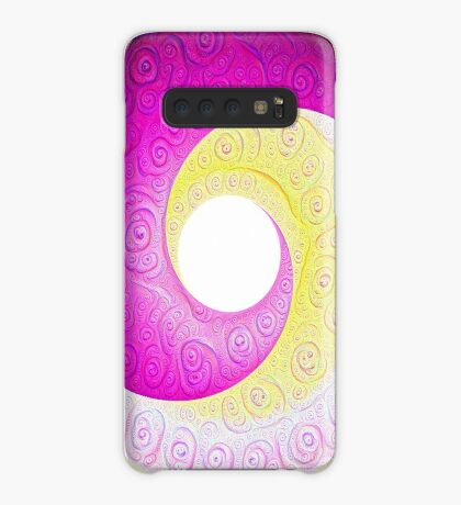 #DeepDream Color Circles Visual Areas 5x5K v1448901772 Case/Skin for Samsung Galaxy