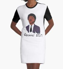 Ezekiel 25:17 Graphic T-Shirt Dress